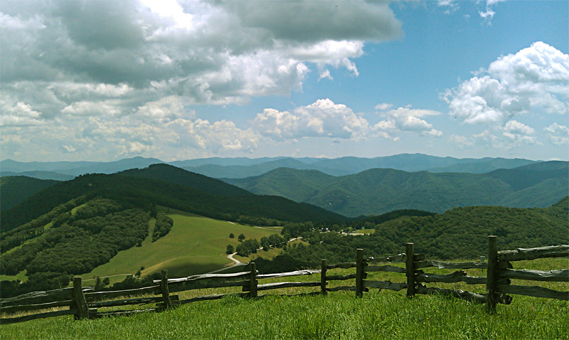 View from Hemphill Bald