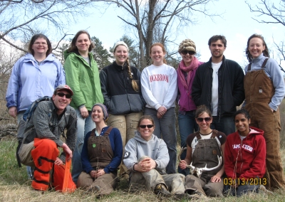 Americorps volunteer team.