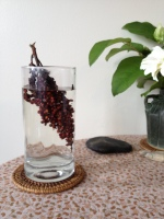 A refreshing sumac beverage.